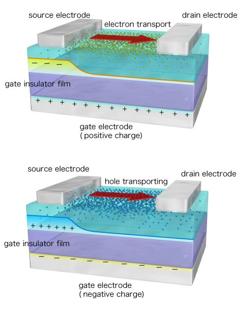 Organic Field Effect Transistor Ofet Chihaya Adachi Lab